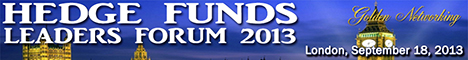 Hedge Funds Leaders Forum 2013 London